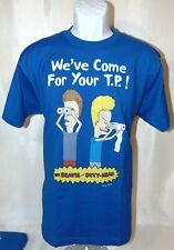 Beavis and Butt-Head We Have Come For Your TP Men's Graphic T-Shirt Size Large