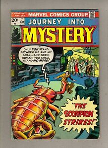 "JOURNEY INTO MYSTERY #7_OCTOBER 1973_VERY GOOD MINUS_""THE SCORPION STRIKES""!"
