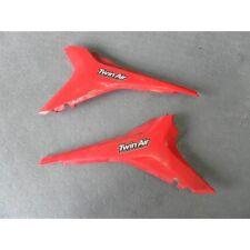 FIANCATE PLASTICHE CASSA FILTRO PLASTIC HONDA CRF 450 2009 2010 2011 2012