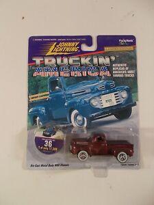 Johnny Lightning 1/64 Truckin' America 1950 Ford F-1