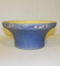 Antique Newcomb College Large Bowl Artist Sadie Irvine