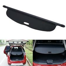 Black Retractable Rear Cargo Trunk Cover For Nissan Rogue X-trail T32 2014-2016
