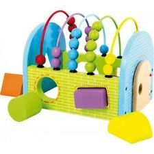 Abacus Activity Cube Wooden Sensory Toy