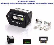 AU 48V Battery Indicator 48 Volt EZGO ClubCar Yamaha Golf Cart Meter Gauge New