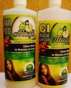 Cirugia Capilar Celulas Madres Con Argan SIN FORMOL brasil Profesional  ORIGINAL