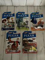Hot Wheels Disney Pixar Complete Lot Of 5 CARS Toy Story Nemo Monsters Inc
