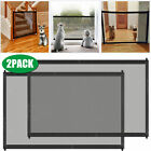 Baby Pets Dog Cat Safety Gate Mesh Fence Home Kitchen Net Portable Guard Indoor