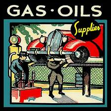 Gas Oil & Supplies Fridge Magnet
