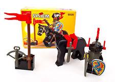 LEGO System Castle 6009 Black Knight [ rare ] [ vintage ]