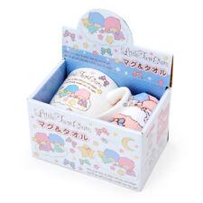 Little Twin Stars Mug & Petit Towel Set Sanrio Kawaii Japan f/s