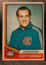 1974-75 O Pee Chee #261 Scotty Bowman Rookie  Montreal Canadiens