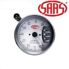 SAAS 3 3/4 INCH TACHO WITH LED SHIFT LIGHT