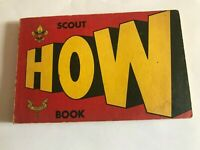 Scout How Book, First Edition, 1969
