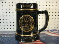 SUNY Buffalo State University of New York Black & Gold Beer Stein Mug Lewis Bros