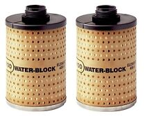"(2) Goldenrod 496-5 Fuel Filters ~ 3"" x 4-15/16"" ~ New"