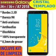 Cristal Templado Protector De Pantalla Para Samsung Galaxy J4+ J6+ Plus A7 2018
