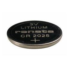 #CR2025 Renata Lithium Watch Batteries - Strip of 5