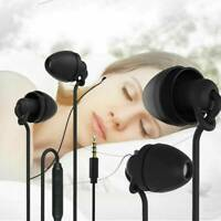 Soft Sleep Earbuds Earphone Noise Isolating Headphones with Mic & Volume Control