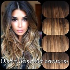 Ombr human hair extensions ebay pre bonded human hair extensions ombre balayage 18 20 1gram pmusecretfo Images