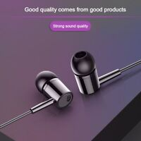 3.5mm In-ear Active Noise Cancelling Wired Stereo Bass Earphone with Mic Earbuds