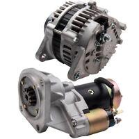 Alternator Starter Motor For Nissan Patrol GQ GU Y60 Y61 4.2L TD42 TD42T TD48