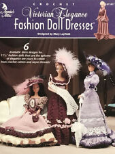 Fashion Doll Crochet Pattern  Victorian Elegance Fashion Doll Dresses 6 Desings