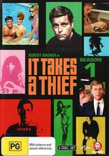 It Takes A Thief : Season 1 (DVD, 2010, 5-Disc Set) LIKE NEW
