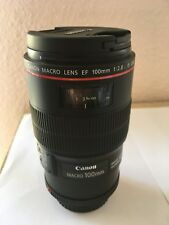 Canon EF 100 mm 2,8 L IS USM Macro-Objektiv, sehr guter Zustand