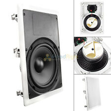 """8"""" In Wall Subwoofer Home Theater Sub 8 Ohm 100W Rms Speaker Mtx Musica M800Sw"""