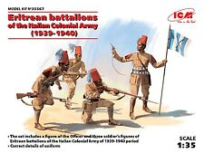 ICM - 35567 - Eritrean battalions of the Italian Сolonial Army (1939-1940) -1:35