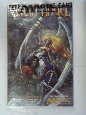 Factory Sealed Serra Angel Comic Book W/ Guay Oversized Card Magic Mtg SAAM06