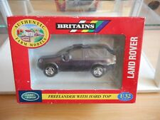 Britains Land Rover Freelander with Hard Top in Purple on 1:32 in Box