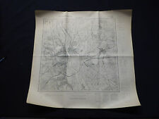 Landkarte Meßtischblatt 3653 Frankfurt / Oder, Kunersdorf, Tzschetzschnow, 1937