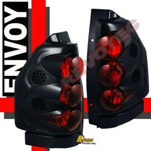 Black Tail Lights Lamps 1 Pair For 2002-2009 GMC Envoy 02-06 Envoy XL