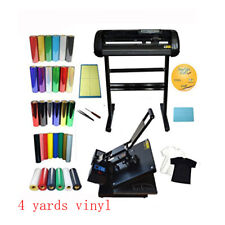 24 Cutting Plotter Amp1515heat Press Transfer Machine Vinyl Cutter With Vinyls