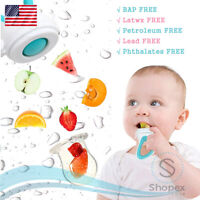 Silicone Pouches Baby Feeding Pacifier Fresh Food Fruits Feeder 3 Sizes in 1