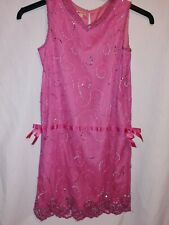 Monsoon dress age 10/11 years beaded with sequins