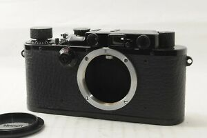 N MINT Leica IIIa Film Camera BLACK REPAINT from JAPAN by DHL #1760