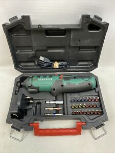 Parkside Cordless Screwdriver PSSA 4 B2 Li-ion with 26 Bits Led Torch