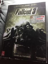 FALLOUT 3 Official Game Guide Covers all Platforms Strategy by prima games