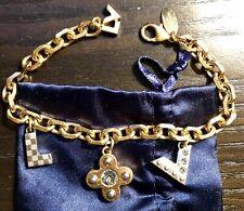 Authentic LOUIS VUITTON Love Letters Timeless Charm Bracelet
