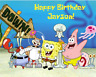 SpongeBob Square Pants Edible image Birthday Cake topper decoration