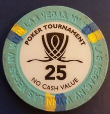 Authentic Collectable Casino Poker Chip / Tournament / WSOP / Collossuss