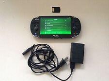 Sony PlayStation Vita Black 1001 Wifi OLED 3.63 PS Vita+1Game