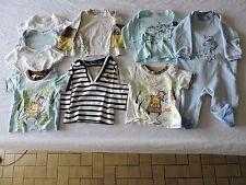 lot de 9 vêtements bébé garçon ; taille 6 mois
