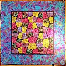 "Magic Stax Pick Up Stix Batils Quilt 60"" X 60"""