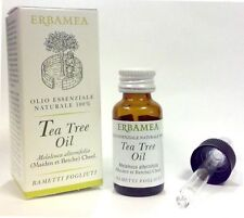 TEA TREE OLIO ESSENZIALE - PURO 100% - ERBAMEA -10ml. Melaleuca