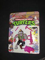 Vintage Dirtbag Mole Teenage Mutant Ninja Turtles Complete Playmates TMNT figure