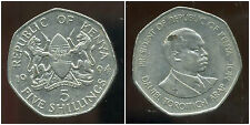 KENYA   5  shillings 1994