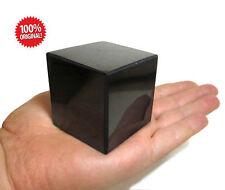 Shungite schungit Polished cube 60x60 elite crystal cups minerals labradorite